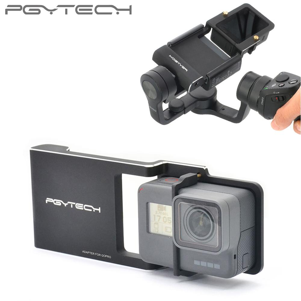 Wholesale Adapter For Gopro Hero 6 5 4 3 Xiaoyi Osmo Mobile Zhiyun Dji Zenmuse M1 Smooth Q 2 Accessory Switch Mount Plate Camera Parts Acheter Drone Best