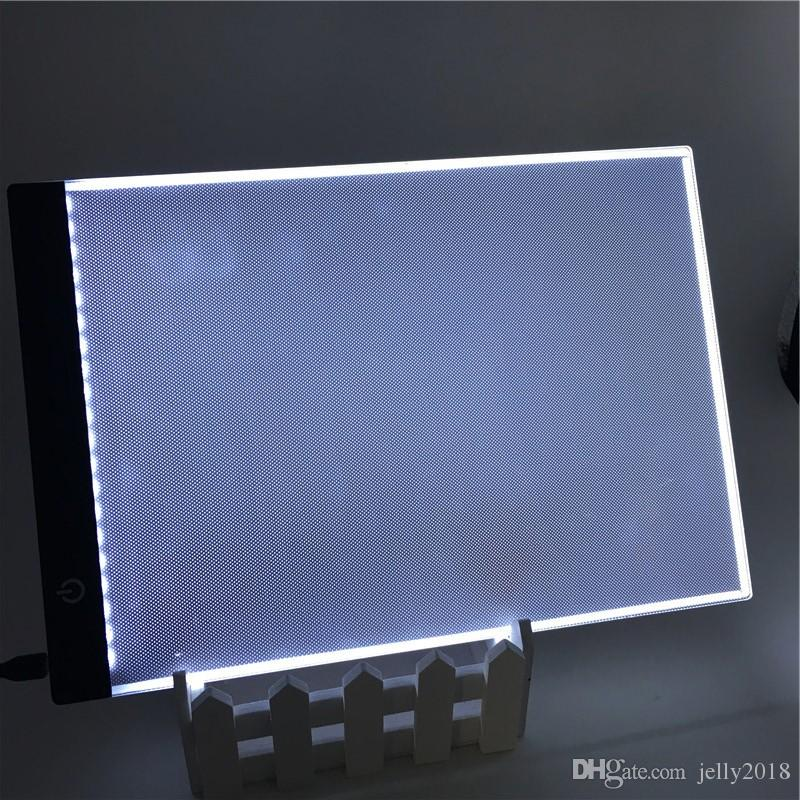 3 5mm A4 LED Light Box Stencil Touch Board Drawing Copy Board Animation  Tracing Pad Without Radiation EU/UK/AU/US/USB