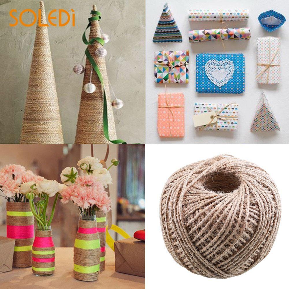 2019 Wedding Jute Twine String Natural Craft Floral Wedding Gift
