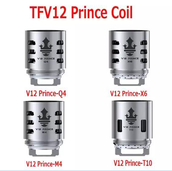 2018 sale SMOK TFV12 Prince Cloud Beast Coil Head V12 Q4 X6 T10 M4  Replacement Coils Massive Vapor Vape Core Tank 100% Authentic Smok Tech