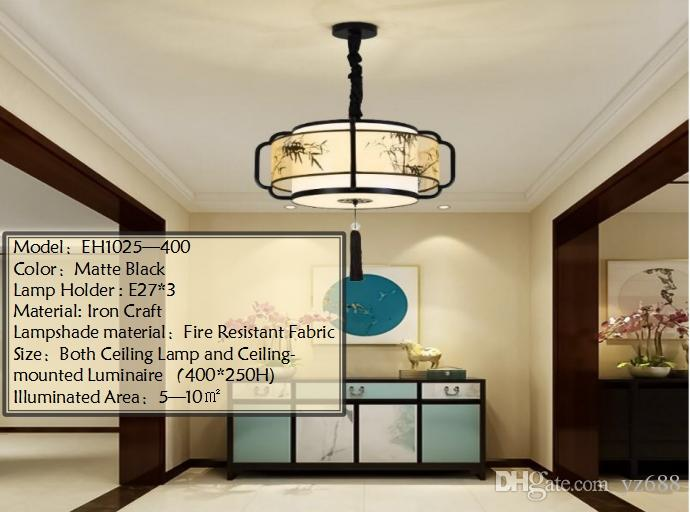 New chinese style pendant lamp can be used in living room bedroom new chinese style pendant lamp can be used in living room bedroom dining room restaurant house commercial lightingcustome madebamboo pendants hanging aloadofball Gallery