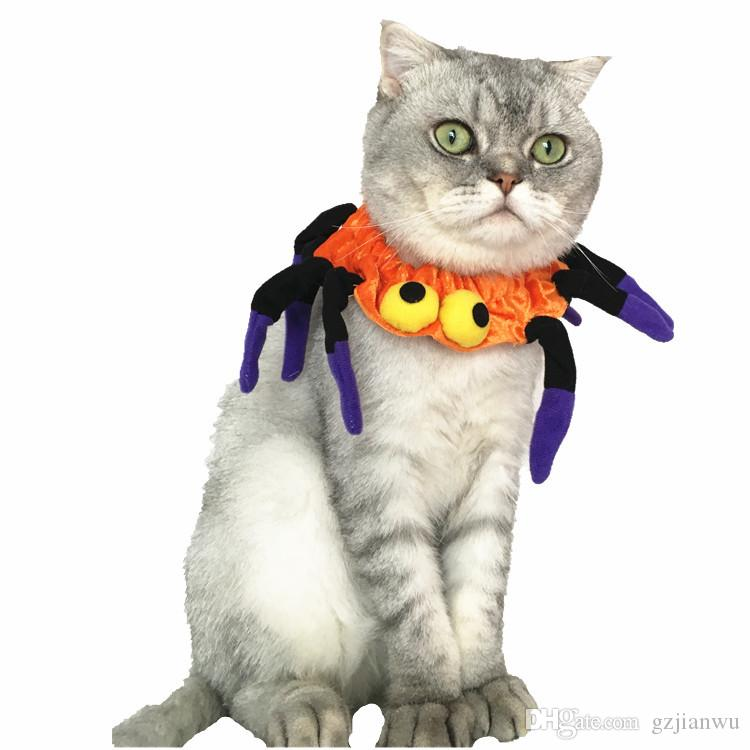 cosplay pet halloweenhalloweenchristmas lovely pet collarscarf cosplay clothes pet costumes dog puppy cat supply pet halloween cat collar dog puppy online