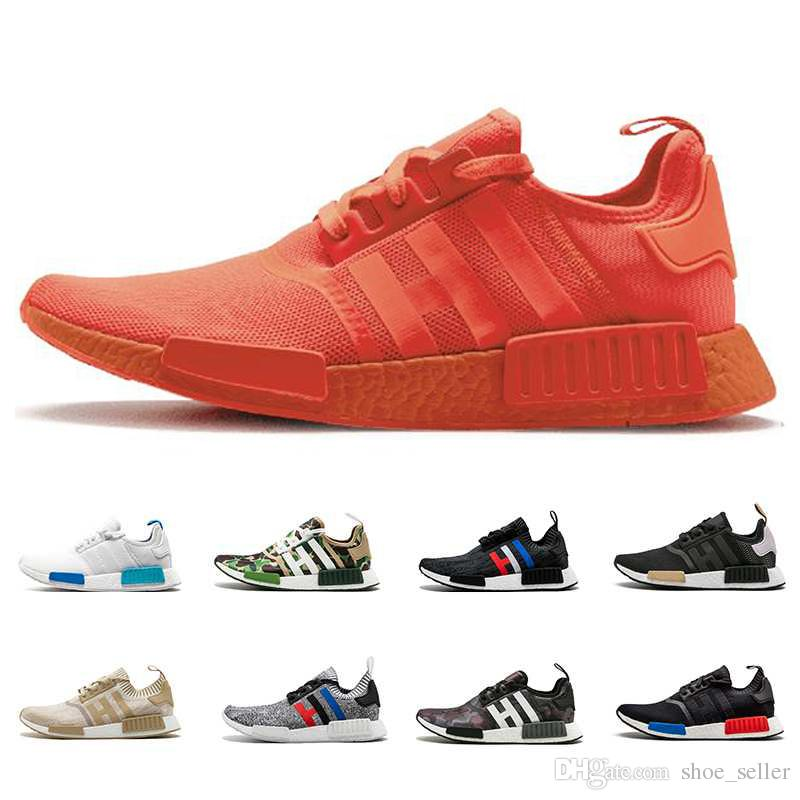 quality design 96b30 0eb4c Compre 2018 Adidas NMD R1 Oreo Runner Nbhd Prime Knit OG Xr1 Triple Negro  Blanco Zapatillas De Running Hombres Mujeres Nmds Runners Xr1 Calzado  Deportivo ...
