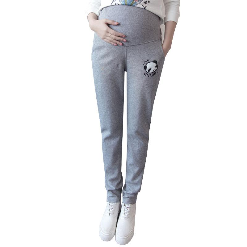 ea76c198db65e Autumn Sports Maternity Pants for Pregnant Women Trousers Legging Maternity  Clothes Casual Pregnancy Pants Clothing Gravida Wear