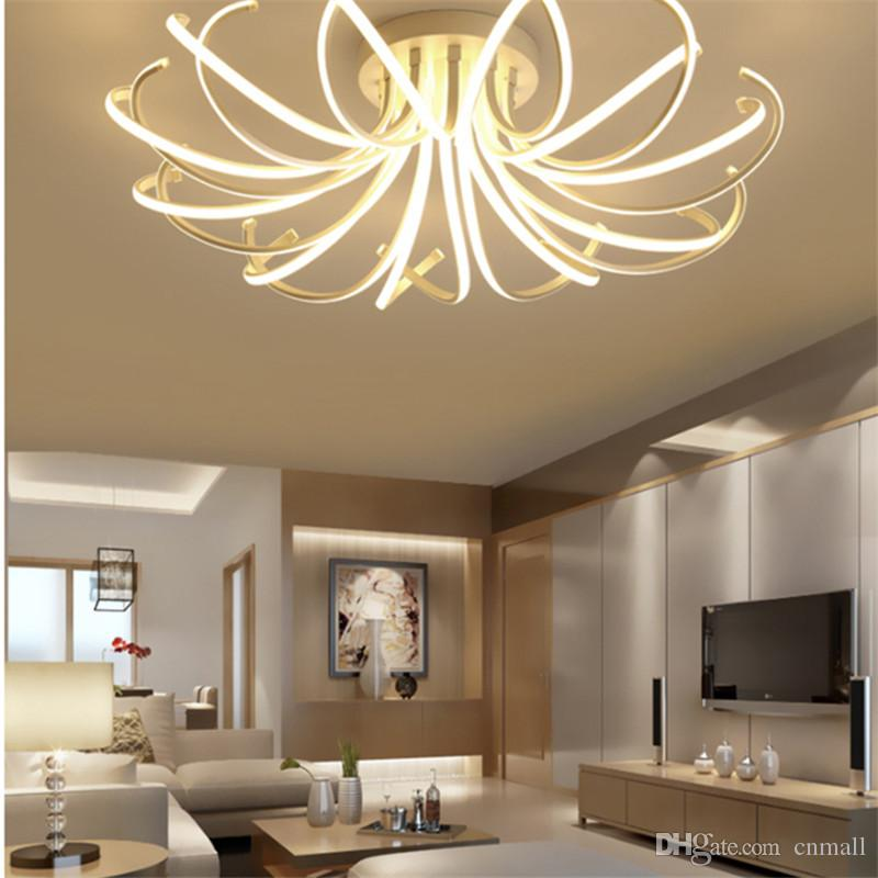 Modern Led Ceiling Chandelier Lights For Living