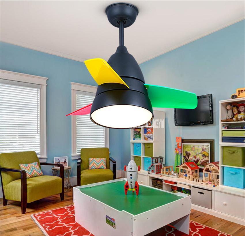 Awesome Modern Ceiling Fan Light Living Room Children S Room Bedroom Restaurant Electric Mini Fan Lights 220V 65W Download Free Architecture Designs Ferenbritishbridgeorg