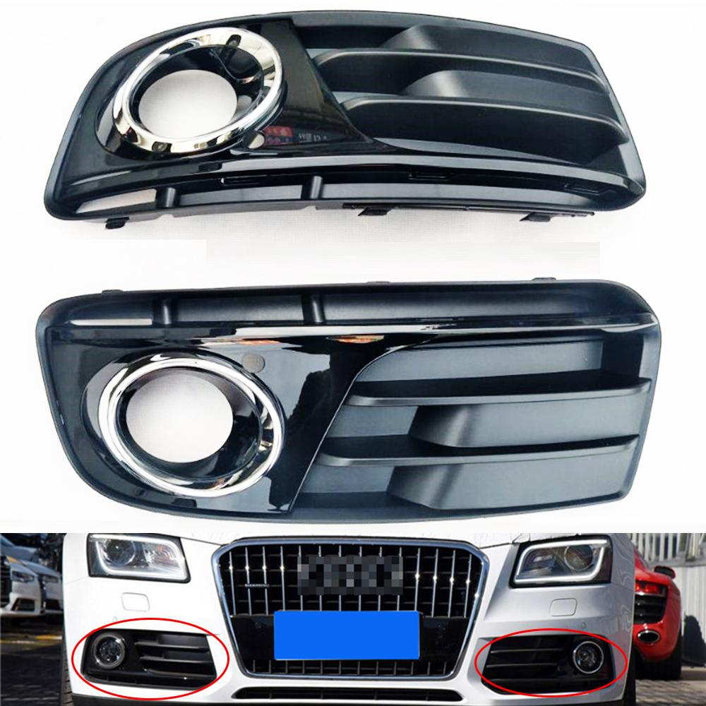 ABS Front Left & Right Lower Bumper Fog Light Cover Vent
