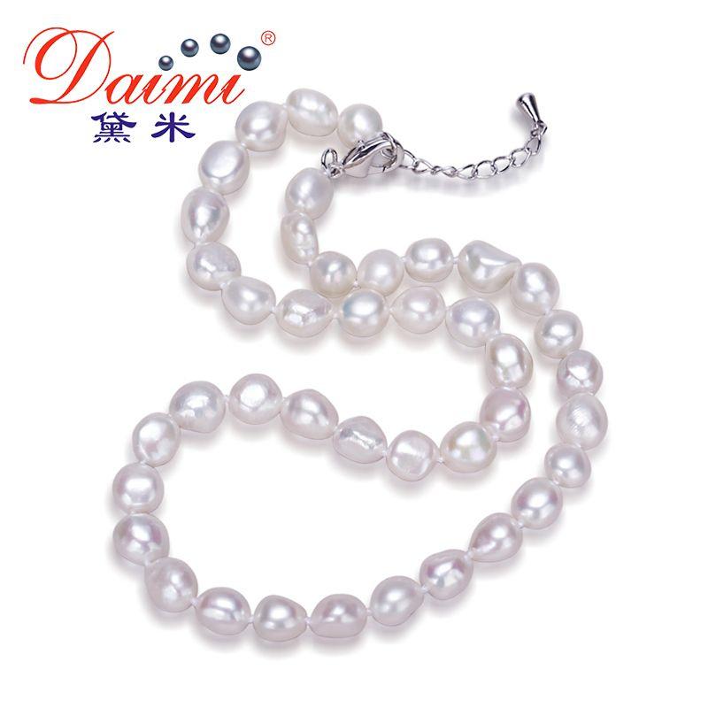8bbdc69e7ea1 Compre Daimi Collar Genuino De Perlas Barrocas