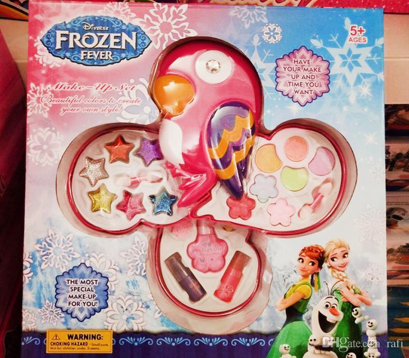 <b>2018 Christmas Gift</b> Fashion Girl Princess Children&#39;S <b>Make</b> Up Toys ...
