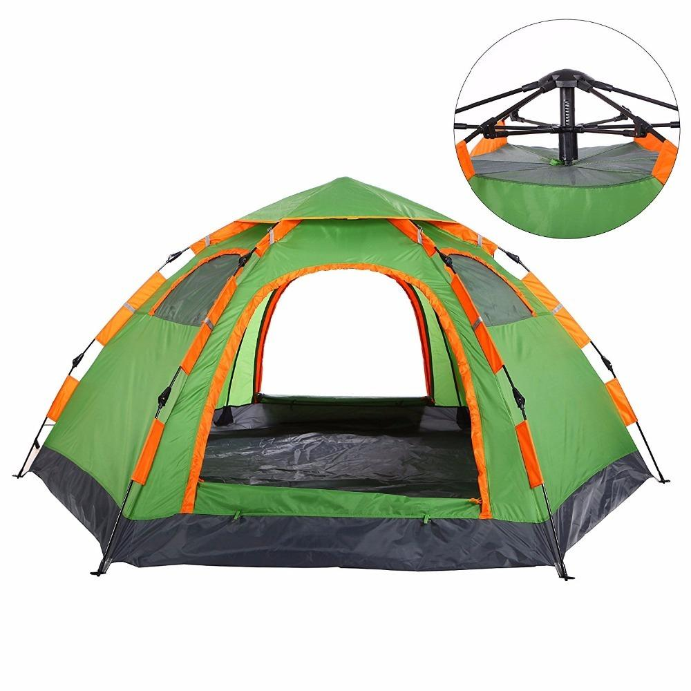 2019 Wnnideo Automatic Instant Pop Up Tent Outdoor 3 4 Person Family Tent  Waterproof For Camping Hiking Travel Beach Park Backyard Womens Shelters  Dog ... f97eb19cf