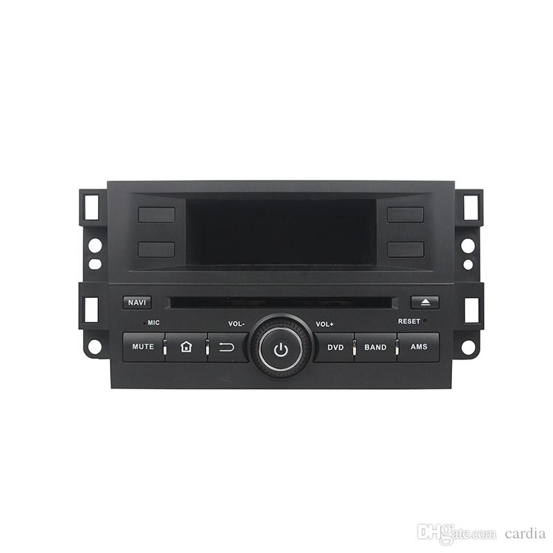 Leitor de DVD Carro para Chevrolet Capativa 2012-2016 8 Polegadas Octa-core Andriod 8.0 com GPS, Controle de volante, Bluetooth, Rádio