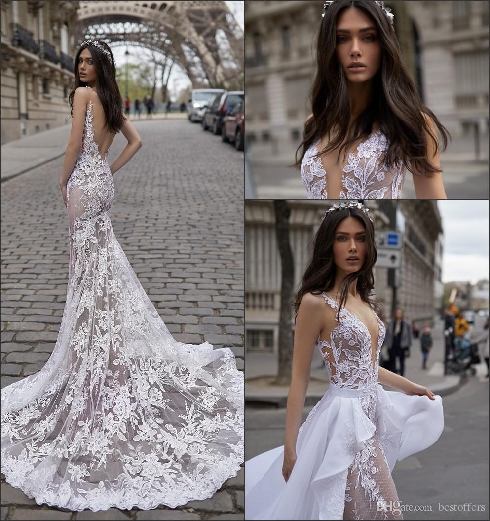 Sexy Mermaid Wedding Dresses 2019 Julie Vino New Design