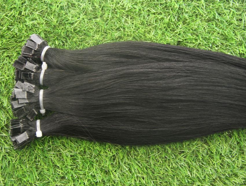 Реми двойной обращается плоский кончик волос расширение 100s капсулы кератина предварительно связали волосы 100G бразильской Девы предварительно связали наращивание волос