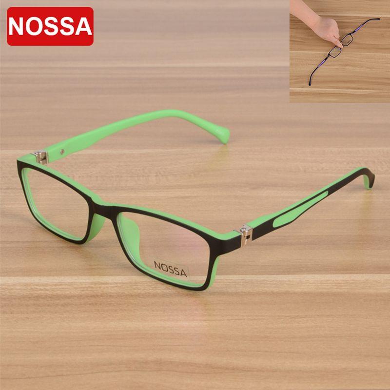 9a59b4fb28d 2019 NOSSA High Quality TR90 Children Optical Frame Eyewear Eyeglasses  Girls Boys Kids Myopia Glasses Frames Kids Eyeglasses Frame From  Fashionkiss