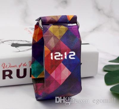 Acquista Orologio Di Carta Digitale Modo Caldo Di Vendita Wristband