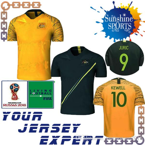 e7a6c0e66 ... shopping 2018 in stock australia soccer jersey 2018 world cup home  yellow away green 2019 rogic