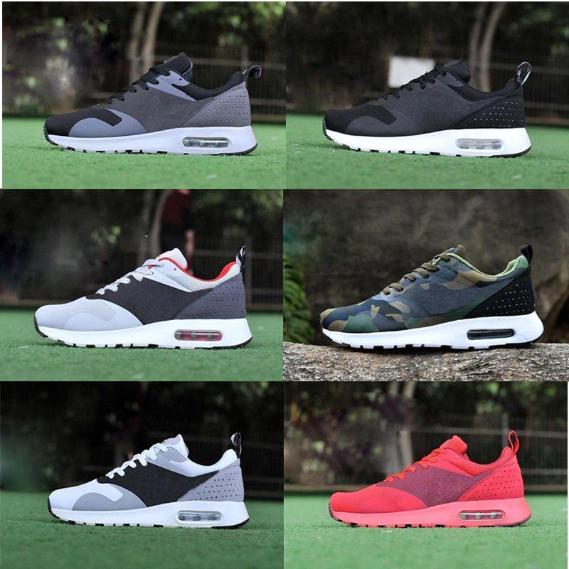 Acheter authentique Nike AIR MAX TAVAS PRINT Rouge Homme
