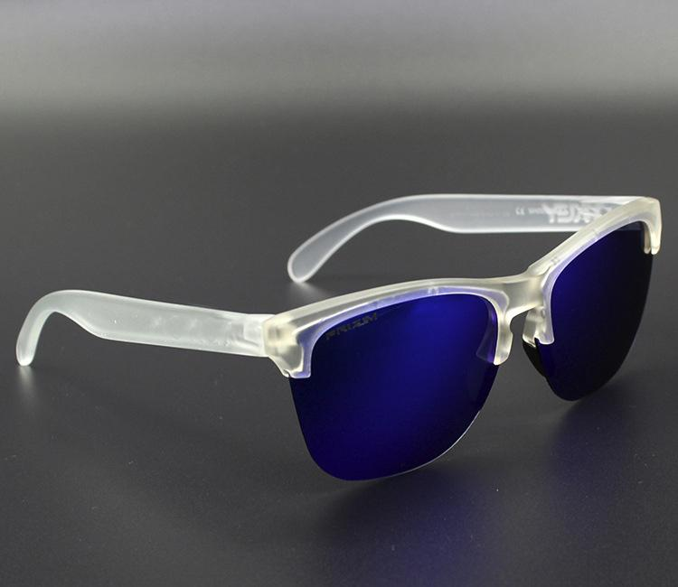في الهواء الطلق نظارات Frogskin 4 ألوان ركوب الدراجات النظارات المستقطبة TR90 UV400 للرجال والنساء 009374