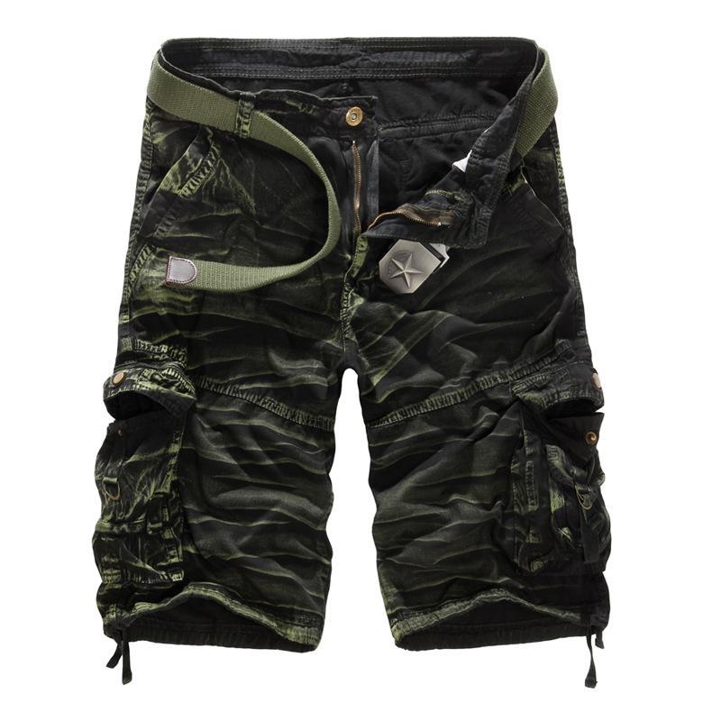 La De Armée Shorts Homme Casual Court Taille Cargo Ceinture Pas Lâche Pantalon Hommes Camouflage Travail Plus Marque YHIDeWE29