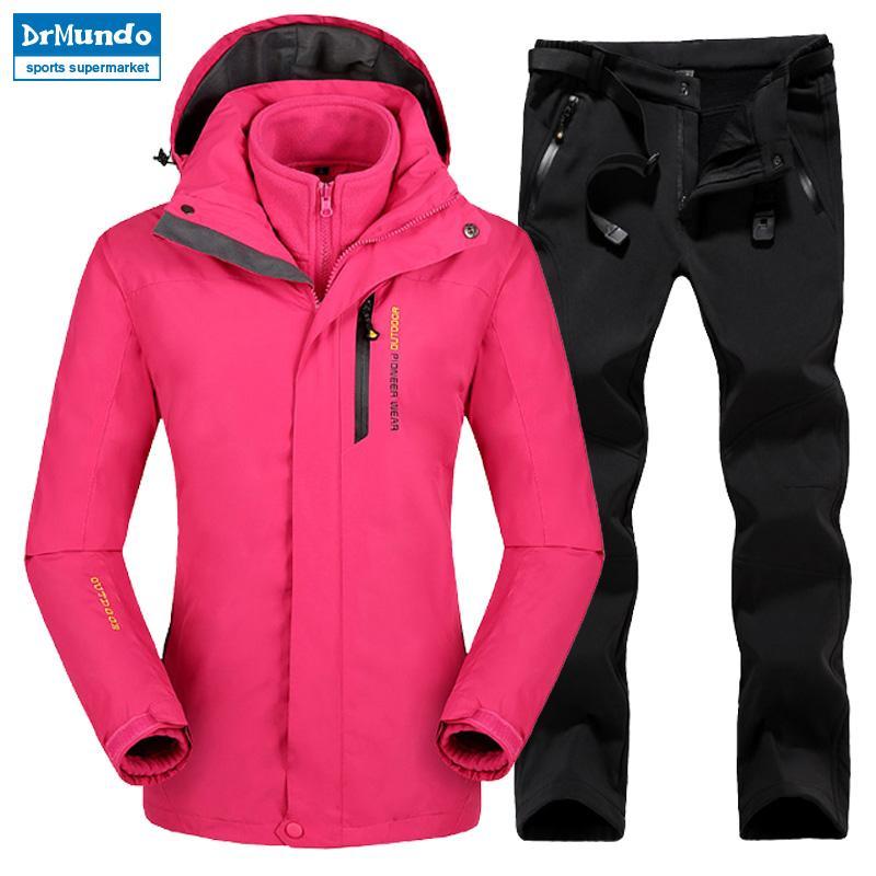 21325b8e271 2019 Plus Size Mountain Skiing Ski Wear Waterproof Hiking Outdoor Jacket  Snowboard Jacket Ski Suit Women Large Size Snow Jackets From Xuelianguo
