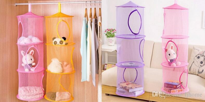 2018 Shelf Hanging Toy Organizer Mesh Storage Net Kids Storage Basket Toys  Bag Storage Mesh Basket Bedroom Wall Door Closet From Ljhome, $33.17 |  Dhgate.Com