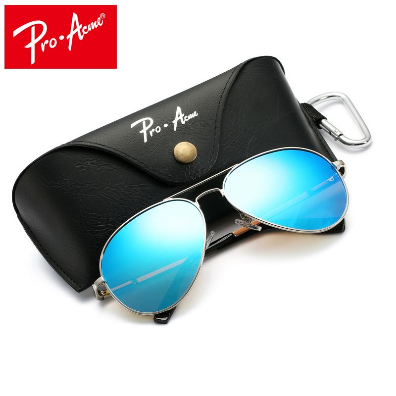 431cc5f3245 Pro Acme Large Metal Polarized Sunglasses Men Women Classic Pilot Driving  Sun Glasses Twin Beams Frame With Case PA1052 C18110601 UK 2019 From  Tong06