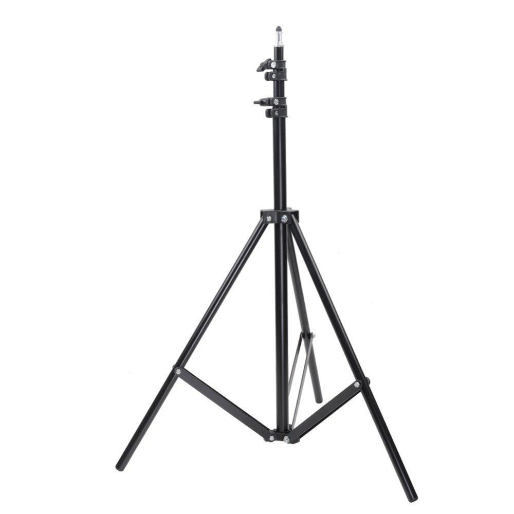 2019 wholesale 3m 10 feet aluminum photo video studio adjustabletripod light stand for yongnuo studio strobe lighting fixtures soft box from shuokai002