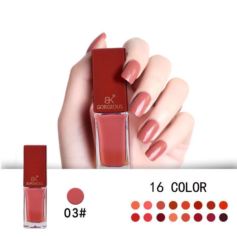 New Pumpkin Colors Series Stamping Nail Polish Long Lasting Quickly ...