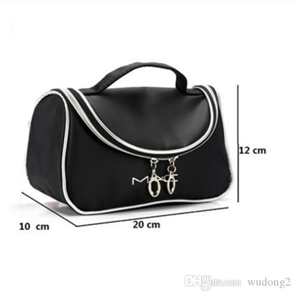 2018 New Style Waterproof Makeup bag Travel Beauty Cosmetic Bag Organizer Case Necessaries Make Up Toiletry Bag with Mirror