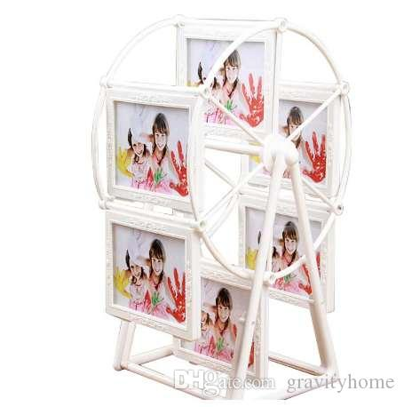 2018 Lovely Plastic Photo Frame Rotating Ferris Wheel Shaped Picture ...
