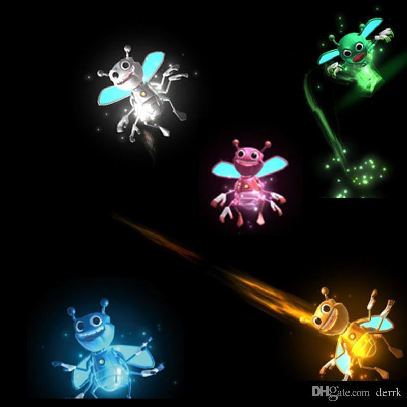 Hot Bright BugZ Magically Flies From Hnad To Hand Magic Lights 3D Bees Download APP Toy Lamp Kit Illusion Trick Funny Kids Xmas