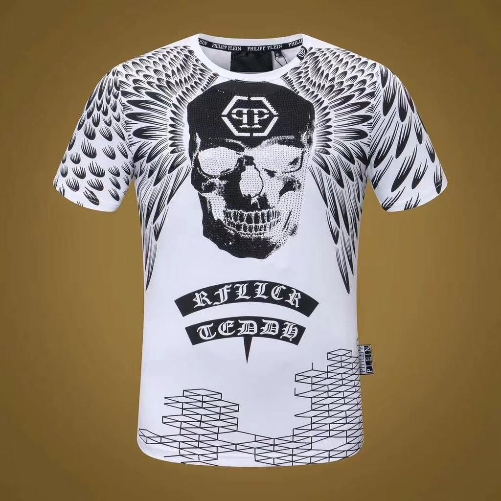 New Hot Fashion 3d Skulls Print Mens T Shirts Medusa Men T Shirt