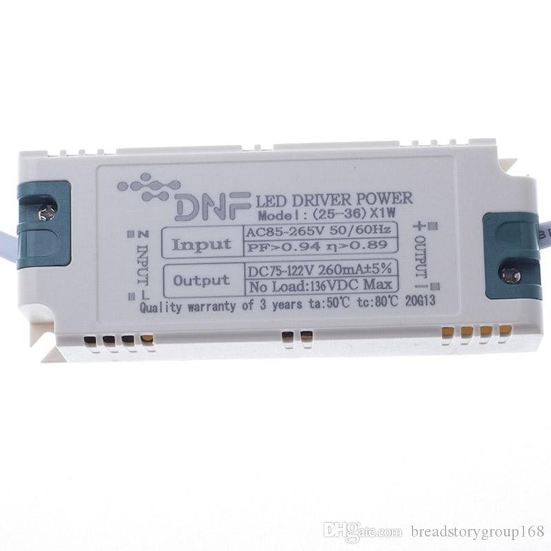 ثابت سائق الحالية DC LED DNF LED سائق LED الكهربائي سائق الإضاءة شل البلاستيك صلب خارجي مع IC