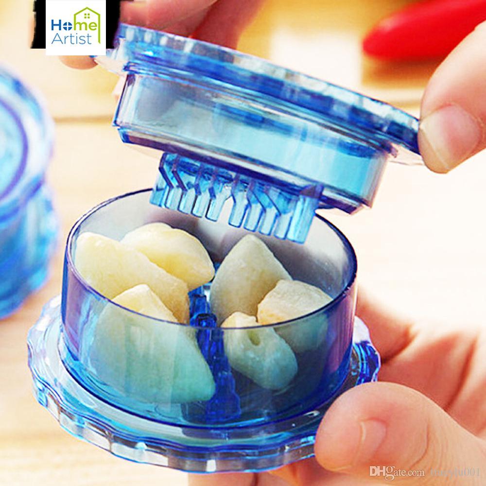 2018 Random Color New Arrival Kitchen Tools Helpful Garlic Crusher ...
