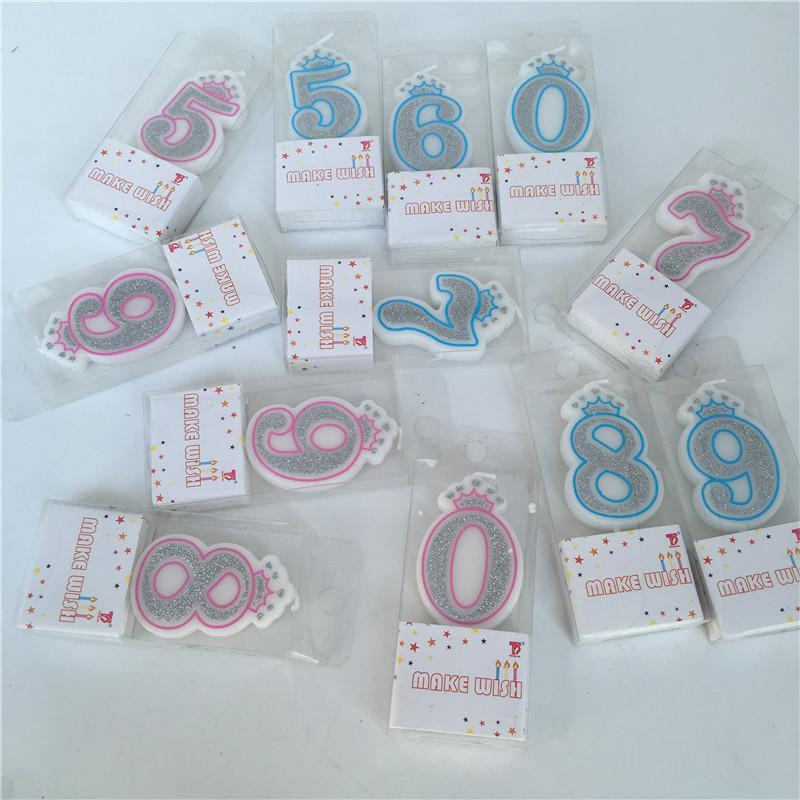 1pc Number Birthday Cake Candles 1 2 3 4