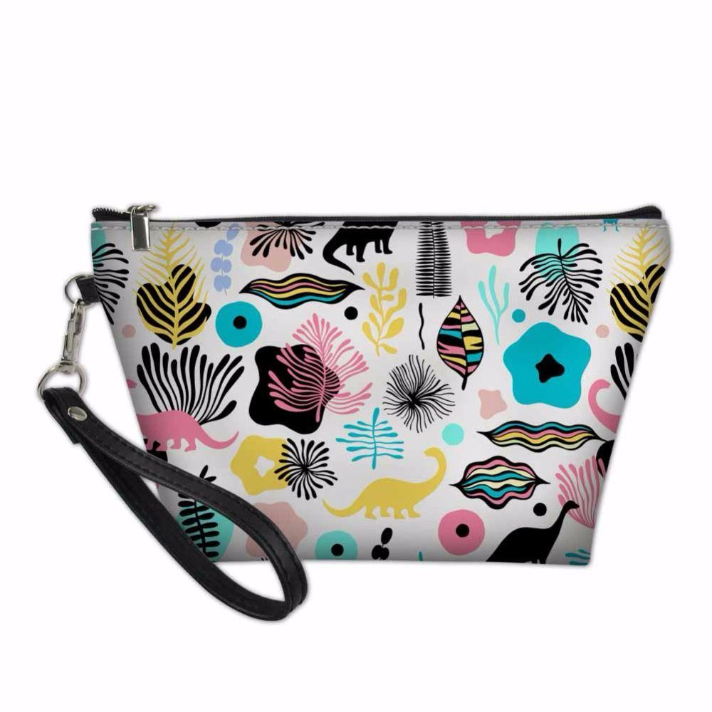 1a158261392b5f Little Dinosaur Pattern Makeup Pouch Organizers Bags for Women ...
