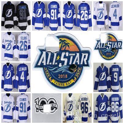 classic fit b3a8a 1962f Youth/Kids Steven Stamkos Jersey Tampa Bay Lightning 9 Tyler Johnson 86  Kucherov 26 St.Louis 4 Lecavalier Mens Womens Stitche Hockey Jerseys