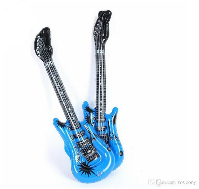 음악 풍선 장난감 모델 교육 에이즈 마이크 기타 스피커 풍선 어린이 장난감 구입을 환영합니다