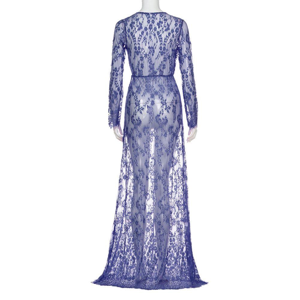 4f583df48dd80 2018 MUQGEW Maternity dress Photography Cotton Pregnant Women vestidos Lace  Fashion Long Sleeve Evening Dress