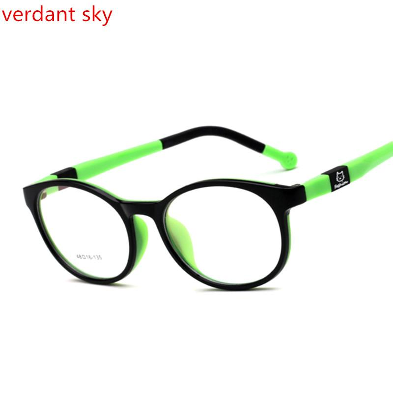 35cc77dea8 2019 Flexible Silicone Student Glasses Frame Children Myopia Prescription  Eyeglasses Optical Kids Spectacle Frame For Baby Boys Girls From Huazu