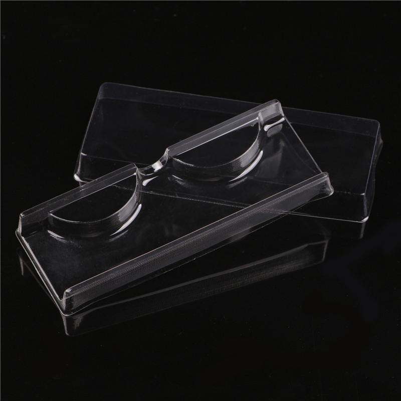 60pcs Plastic False eyelash packing box Clear lash packing boxes