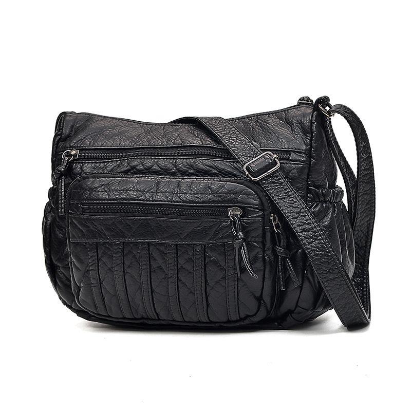 Women Leather Handbags New Style Women Bag Sac a Main Femme Luxury Handbags  Bags Designer Small Handbag 2018 Sling Shoulder Bags Cheap Shoulder Bags  Women ... af6a616f15ff7