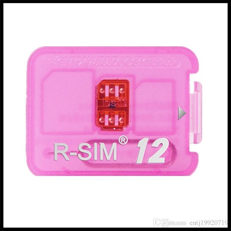 RSIM12+ Unlock Card For iPhone 6 7 8 Plus Unlocked IOS 11 x-7 x 4G CDMA GSM  WCDMA SB AU SPRINT