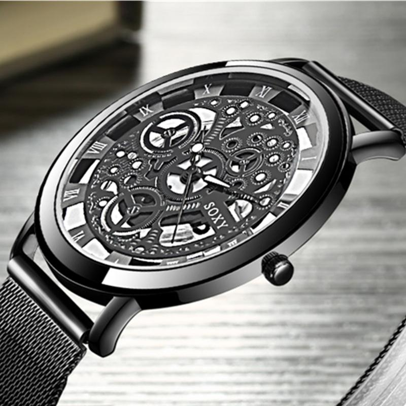 Herrenuhren Herren Uhren Horloges Mannen Led Digital Wasserdicht Quarz Armbanduhr Kleid Goldene Armbanduhr Frauen Männer Erkek Kol Saati Reloj Uhren