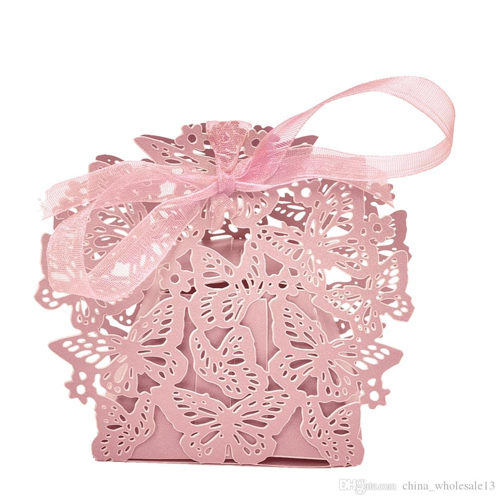 Best 3d Butterfly Candy Box Wedding Favors Decor Diy Candy Cookie ...