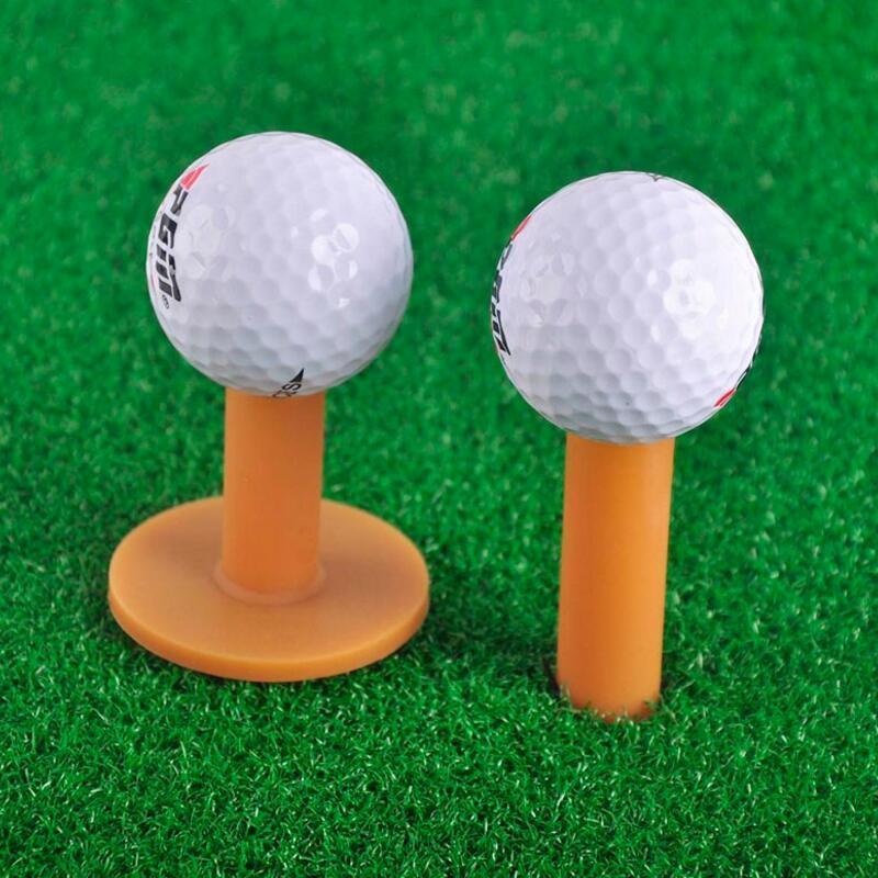 Brand Rubber Golf Tee Holder 43 54 70 80mm Training Practice Tee Mat