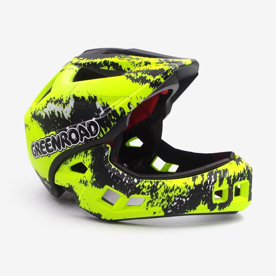 2019 Cycling Helmet Fullface Off Road Mtb Bike Trail Mountain Helmet