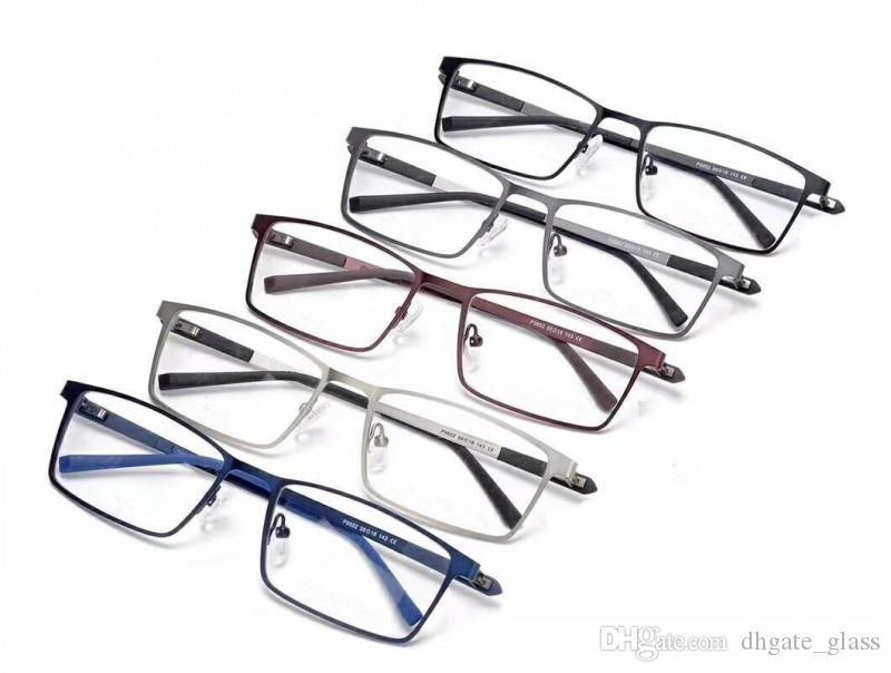b913805095 Mens Optical Glasses Luxury Designer Glasses PC Lens Square Titanium  Eyeglasses Frames For Men Optical Frame Opp Bag Can Be Customized Sunglasses  Shop Bolle ...
