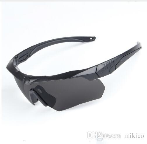 81cc5b7e9e4ae ESS Polarizadas Ciclismo Gafas De Sol Militar Gafas Gafas 3 Lente Tr90 Oculos  Ciclismo Seguridad Retro Sunglasses Baseball Sunglasses From Mikico, ...