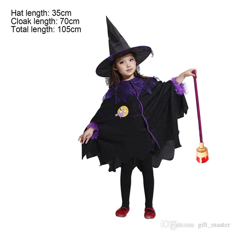 halloween costumes for girls cute black witch coat dress witch outfit costumes children halloween party for kids halloween costumes for girls kids witch